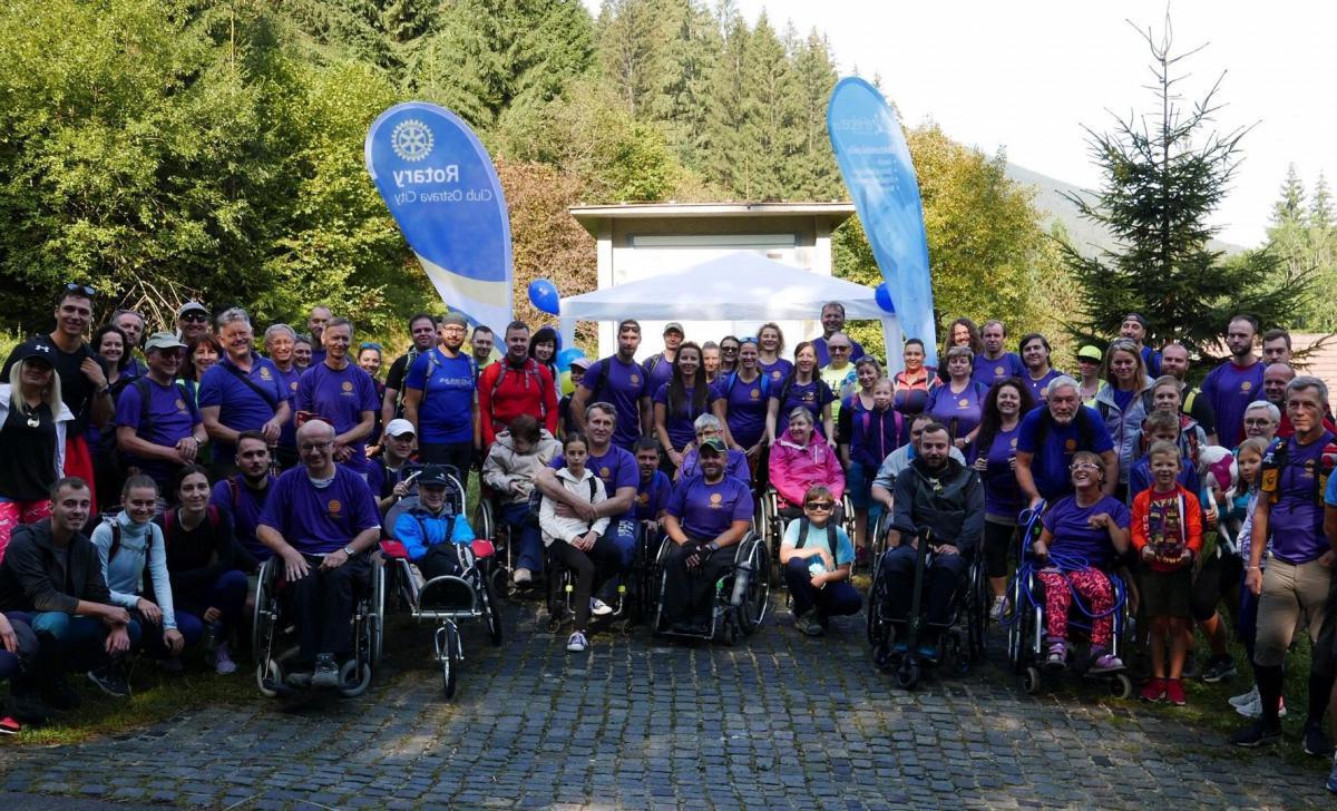 Ostravský klub Rotary se snaží plnit sny vozíčkářům