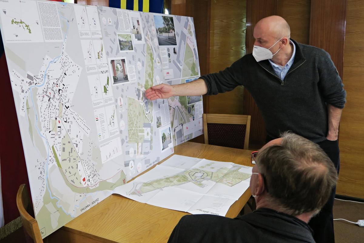 Luže představila své plány v památkové zóně