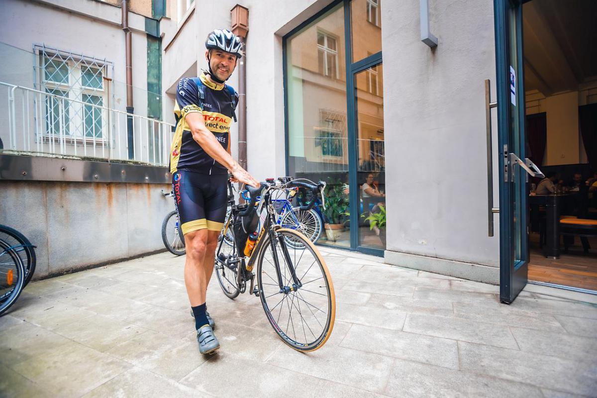 Do práce se Ostravané i letos vydali na kole