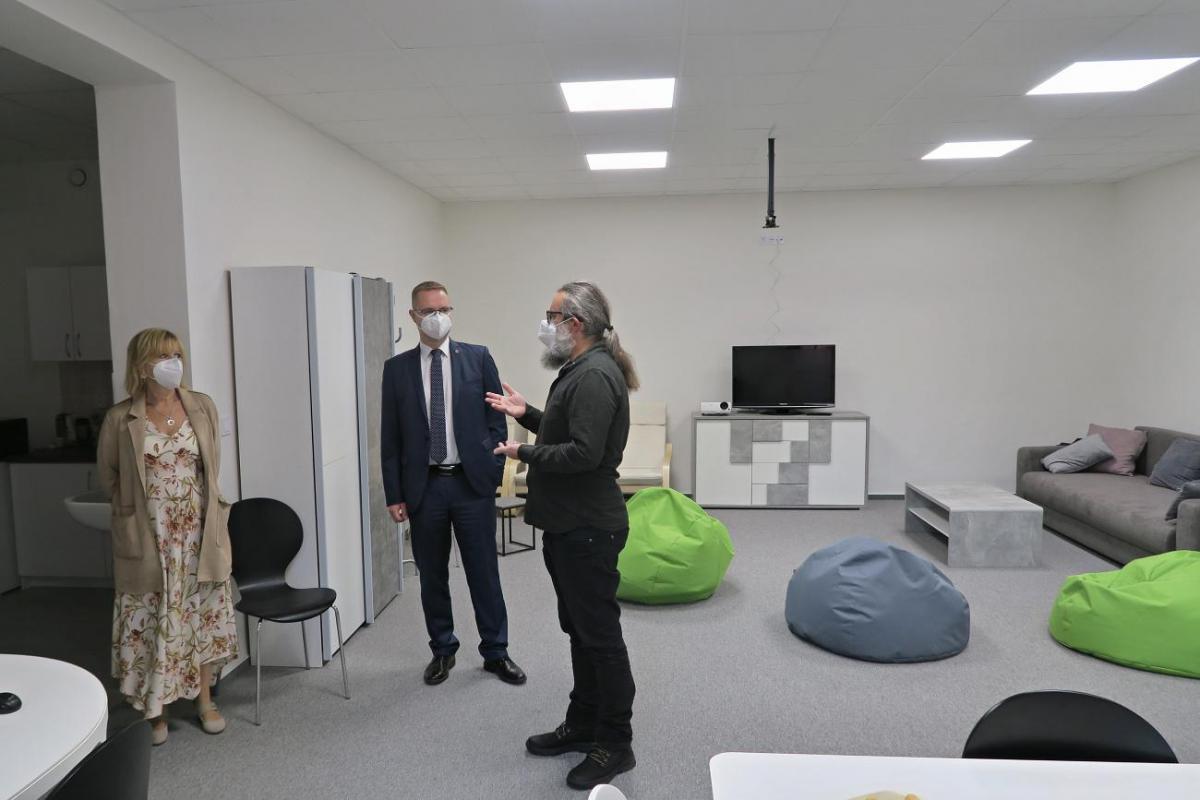Centrum duševního zdraví představilo své prostory po rekonstrukci
